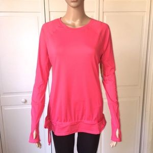 Lucy Women's Jog For Joy Long Sleeve Size Small